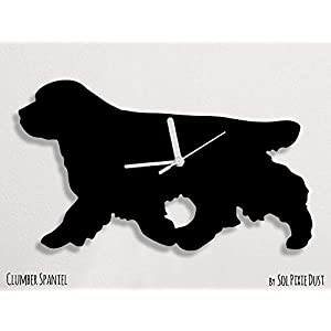 Clumber Spaniel Dog - Wall Clock 2