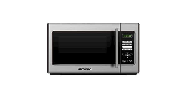 Amazon.com: Emerson 900-watt Microondas – Acero inoxidable ...