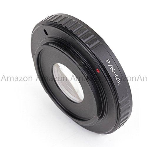 Pixco Pro Lens Adapter for Pentax K PK Lens to Nikon F Mount Camera D5300 D610 D7100 D5200 D600 D3200 D800/D800E D4 D5100 D7000 D3100 D300S D3000 D3X D90 D700