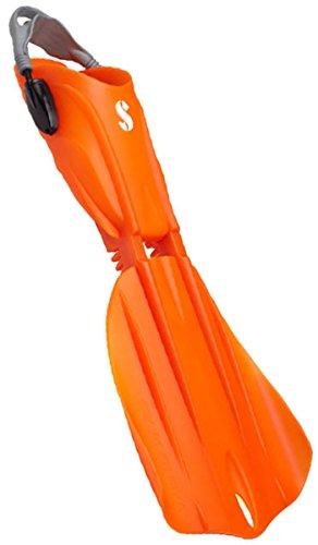 ScubaPro Seawing Nova Gorilla Fins (Medium, Orange) - Orange Fin