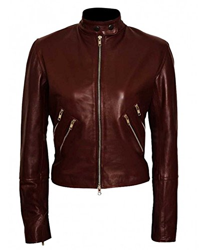 Cobie Smulders Jack Reacher Never Go Back Major Susan Turner Leather Jacket (Jack Reacher Never Go Back Leather Jacket)