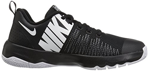 Nike Basketball 004 de Noir Chaussures Hustle Team Homme GS White Black Quick YUYwr