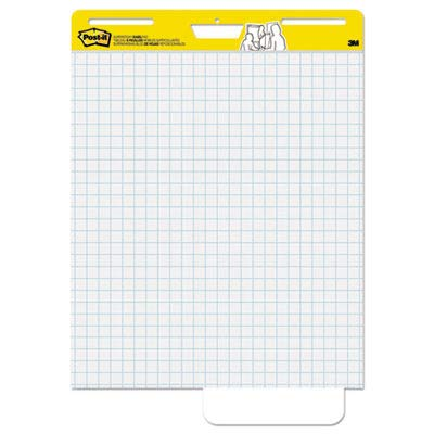 Post-it Easel Pads, Self-stick, 25''x30'', Grid, 30 Sheets/Pad, 2/Carton MMM560