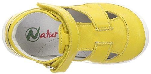 Naturino Baby Mädchen 4699 Sandalen Gelb (Giallo 9104)