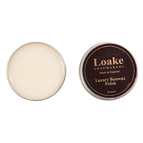 The Loake Esencial Kit Limpieza Incluye Loake Pulir Cera , Loake Aplicador brocha y Loake PULIDO trapo neutro cera de abeja 100ml