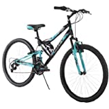 26 Inch Huffy Women's Trail Runner Mountain Bike, Black