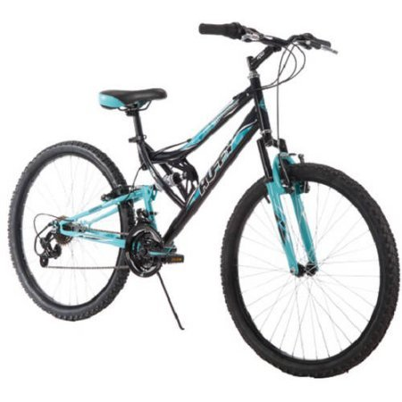 affordable Huffy 26 Inch Women's Trail Runner Mountain Bike, Black
