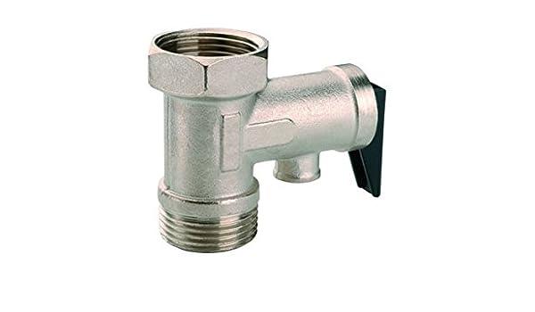 REPORSHOP Valvula Seguridad Termo Calentador Electrico 1//2 10 Bares Antiretorno