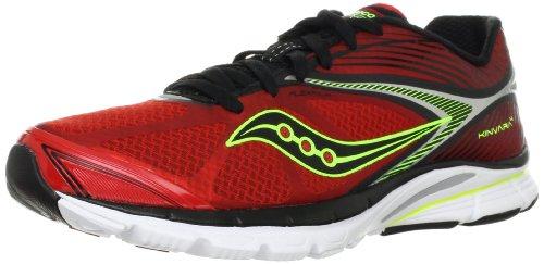SAUCONY Kinvara 4 Zapatilla de Running Caballero Rojo/Negro