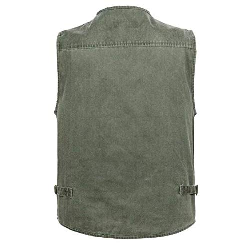 Vest Director Multi Summer Work Casual Men Haidean Pocket Outdoor A Gilet Net Moderna Professionale Uomini pPwxFT