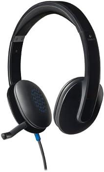 Logitech H540 On-Ear USB Headphones