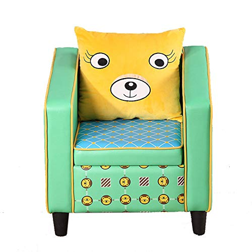 Friendly Footstools - Wood Wood Children's Sofa Quality Environmentally Friendly Removable Washable Bear Footstool