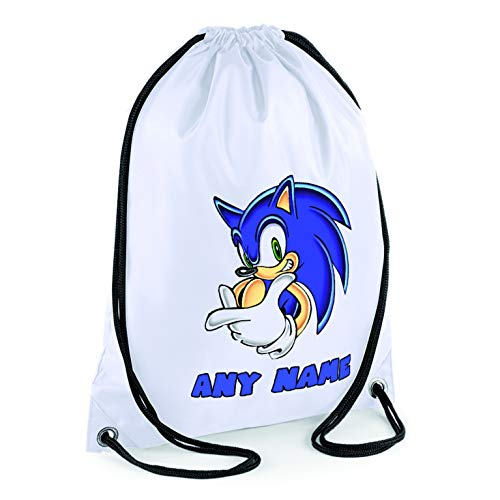 Shires Art Printing Personalised Sonic The Hedgehog Gym Bag Buy Online In Grenada Shires Art Printing Products In Grenada See Prices Reviews And Free Delivery Over Ex 200 Desertcart