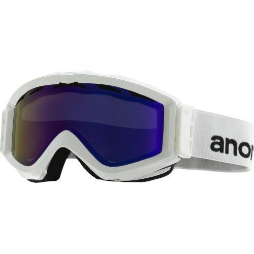 - Anon Figment Goggle White / Blue Solex