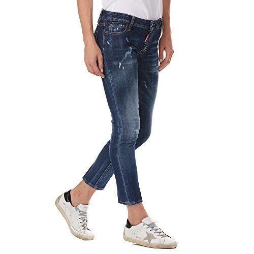DSQUARED Jeans Runway S72LB0160 Blue R6xawhp