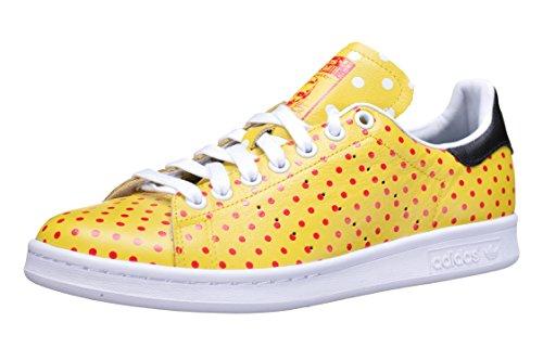 Adidas Originals Pw Stan Smith Mens Spd Entrenadores las zapatillas de deporte (uk 6,5 con nosotros YELLOW/RED/FTWWHT B25402