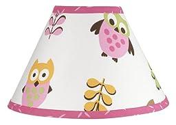 Pink Happy Owl Lamp Shade by Sweet Jojo Designs