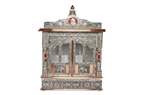 Movie Time Vdieo 59065-DM Hindu Puja Mandir/Temple/Alter, Aluminum Plated with Doors by Movie Time Vdieo