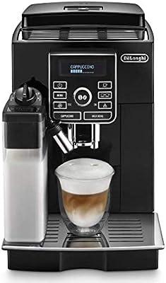 DeLonghi ECAM25.462.B Cafetera automática independiente, 1450 W, 1.8 L, 2 tazas, acero Inoxidable, negro: Amazon.es: Hogar