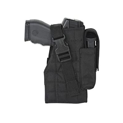 Voodoo Tactical Tactical Molle Holster W/ Attached Mag Pouch - 25-002907001