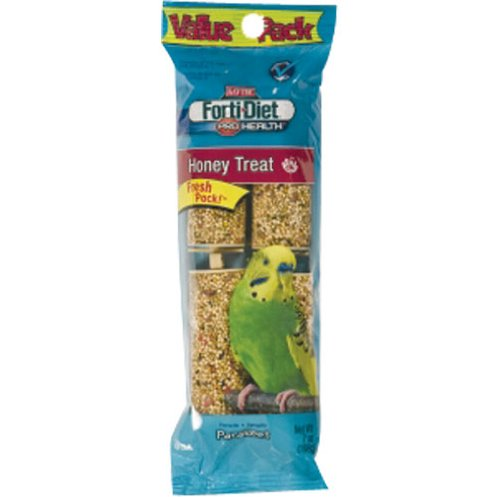Kaytee Pet Products BKT100502940 Forti-Diet Pro Health Honey Parakeet Treat Stick, 7-Ounce, My Pet Supplies