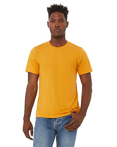 Bella + Canvas - Unisex Triblend Short Sleeve Tee - 3413-3XL - Mustard Triblend ()