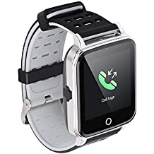 Bluetooth Smart Watch,PLYSIN Activity Tracker with Heart Rate Monitor Touch Screen Smart Bracelet Step Counter Wristband Pedometer for Women Men Kids for Android/iOS