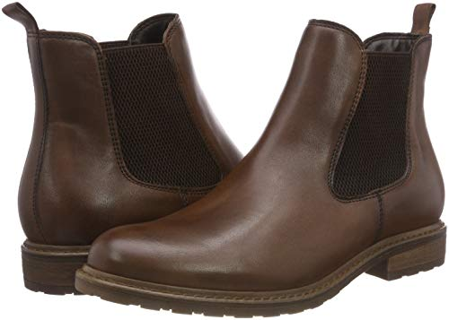 Chelsea Tamaris muscat Boots 21 Women''s Brown 25056 356 Leather tvAqfpwvWr