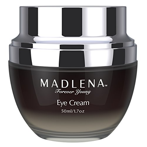 Circle Reducer - Madlena Advanced Anti-Aging Eye Cream for Women & Men - Rejuvenate, Moisturize, Tone and Tighten Saggy Skin Around the Eyes - Eliminate Dark Circles, Puffiness and Fine Lines - Vegan Friendly Formula
