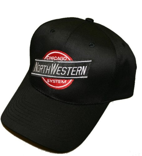 Northwestern Train (Chicago & Northwestern Embroidered Hat [hat17])