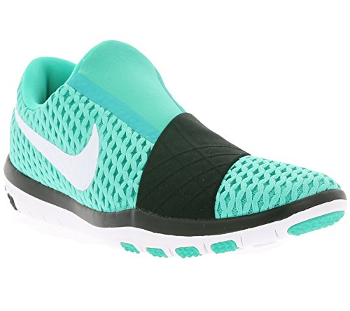 "Nike ""Free"" Connect Women's Cross Training Athletic Running Shoe Clear Jade White Black 300"