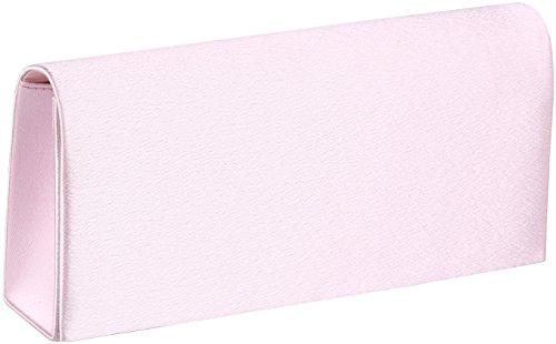 'Amelia' clutch/bolso de noche pequeño con cadena, el color:Negro rosa