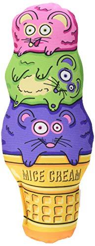Fat Kitty Cat - Petmate Fat Cat Kitty Kickz Mice Cream Cone Cat Toy