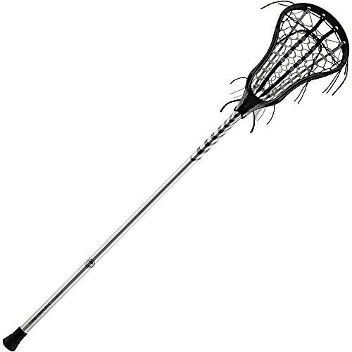 Maverik Lacrosse Female's Vertigo Complete Stick, Black