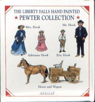 The Liberty Falls Hand Painted Pewter Collection AH222P
