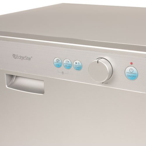 Countertop Dishwasher Japanese : EdgeStar Countertop Portable Dishwasher for 6 Place Settings - Silver ...