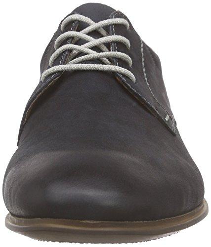 Rieker 11323 Lace-up-men - Zapatos de cordones derby Hombre Azul - Blau (ozean / 15)