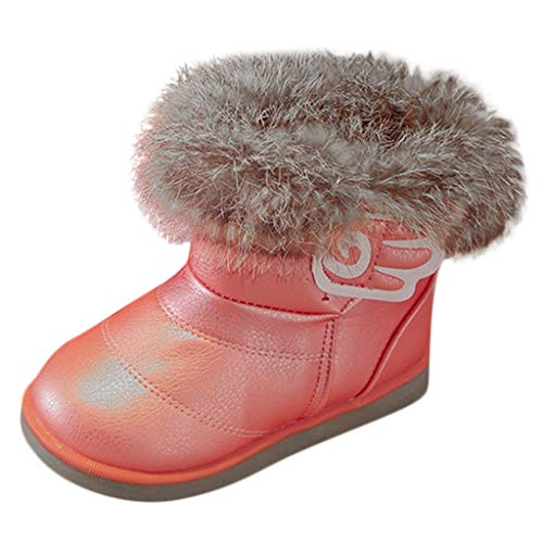 - Snow Boots Toddlers Girls and Boys Winter Warm Fur Kids Outdoor Shoes