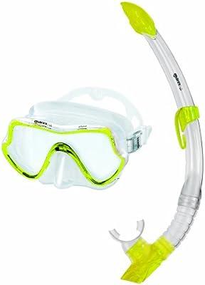 Mares Schnorchelset Shore - Pack de Snorkel, Color Amarillo, Talla ...