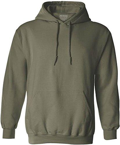 Green Hoody Sweatshirt - 1