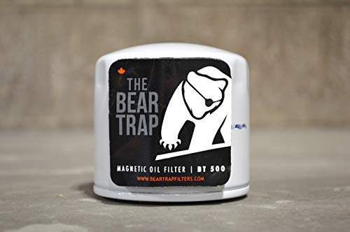 One Eye Industries Bear Trap BT500 Magnetic Filter | Prevent Engine Wear & Double The Life of Your Oil & Filter