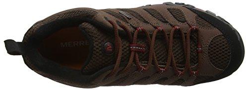 Homme de Marron GTX Potting Merrell Soil randonnée Montante Chaussure Moab AfB1wqYx