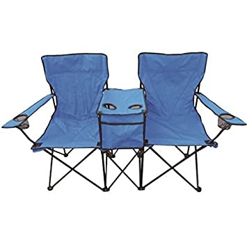 Incroyable Duo Two Person Twin Double Folding Camping Deck Chair Outdoor Fishing  Picnic Beach Garden Patio Foldable