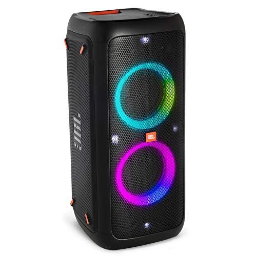 JBL PARTYBOX300 Bluetooth스피커 wireless 마이크 입력/기타 앰프 입력 탑재 블랙 JBLPARTYBOX300JN 【국내 정규품/메이커1년 보증이 붙어 있음】
