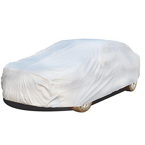 Ocamo Universal UV Waterproof Full Car Cover Outdoor Auto Sun Protection Covers