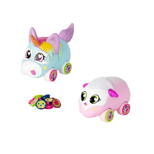 Other Tomy Ritzy Rollerz Toy Cars for Girls with Surprise Charms, Sofia Serv and Tori TaDa Besties (2 Pack)