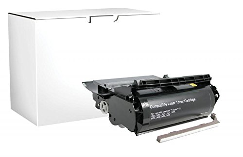 - Fine Line Printing - Compatible for Lexmark Optra S 1250 - Toner Cartridge, Lexmark Compliant (17,600 pgs)