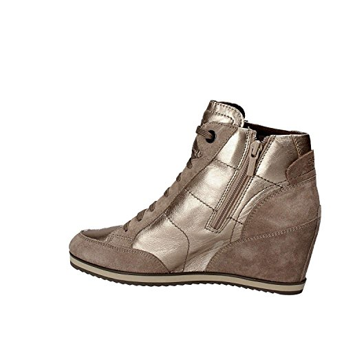 Geox D4454A 0KY22 Zapatos Mujeres Beige