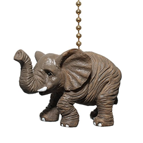 Clementine Designs African Safari Elephant Nursery Porch Ceiling Fan Pull
