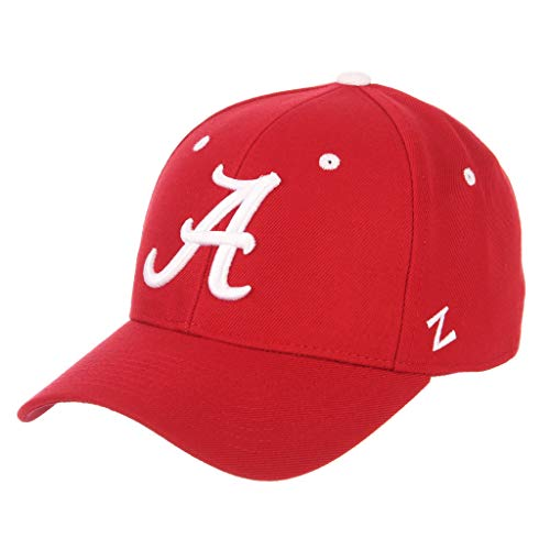 (ZHATS University of Alabama Crimson Tide A Red Best DH Bama Fitted Adult Mens Hat/Cap Size 7 3/8)